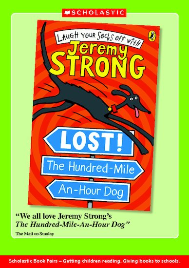 Book Talk Note: Lost! Hundred-Mile-an-Hour Dog