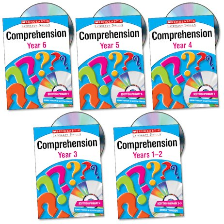 Scholastic Literacy Skills: Comprehension Set x 5