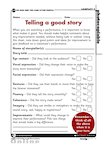 Telling a good story - evaluation report (1 page)