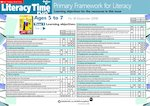 Primary Framework - Literacy Time PLUS Ages 5 to 7, Issue 38  (2 pages)
