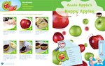 Letterland recipe card: Annie Apple's Happy Apples (1 page)
