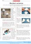 Launch a plastic rocket (1 page)