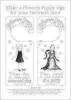 Princess Poppy Door Hanger