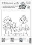 Bob the Builder Colouring Activity