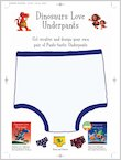 Dinosaurs Love Underpants Design Your Own Pants