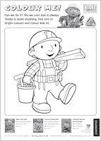 Colour in Bob the Builder