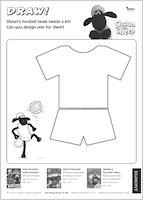 Shaun the Sheep Football Kit