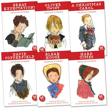 Real Reads: Charles Dickens Pack x 6