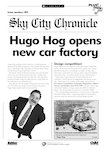 Eco-island newsletter - new car factory (1 page)
