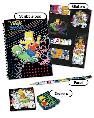 Bart Rules! Scribble Pack