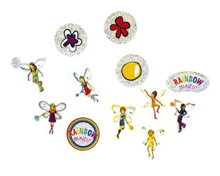 FREE Rainbow Magic sticker set