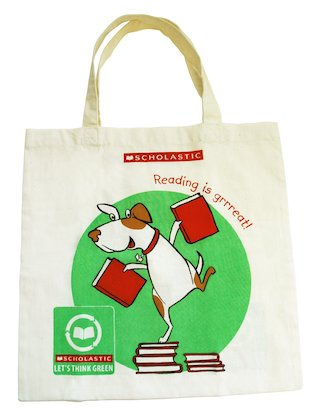Scholastic Canvas Book Bag