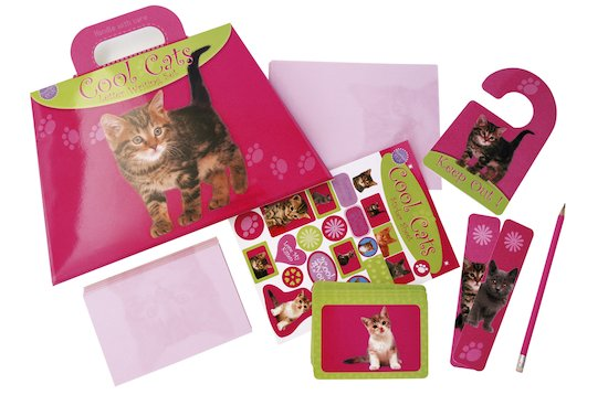 Cool Cats Stationery Set