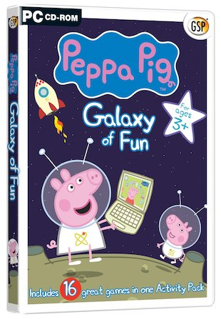 Peppa Pig: Galaxy of Fun CD-ROM