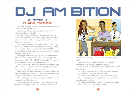 ELT Reader: DJ Ambition Sample Chapter