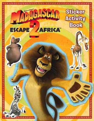 Madagascar 2 Sticker Activity Book