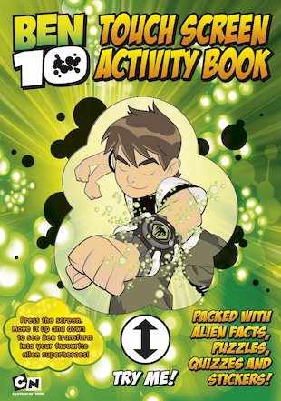 Ben 10: Touch Screen Activity Book