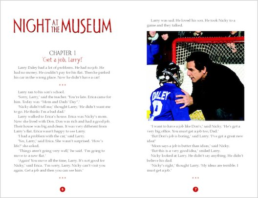 ELT Reader: Night at the Museum Sample Chapter