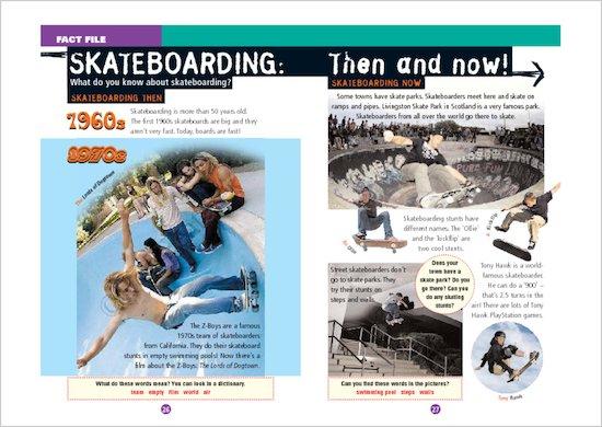 ELT Reader: Spooky Skaters Fact File