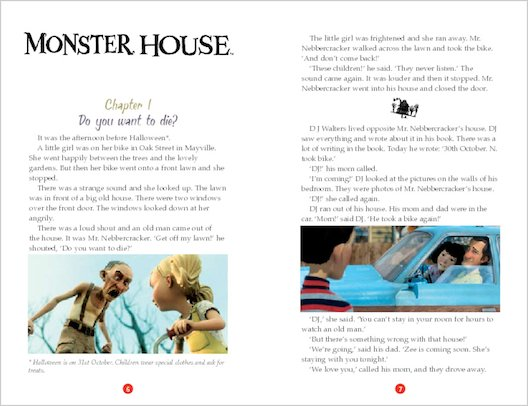 ELT Reader: Monster House Sample Chapter