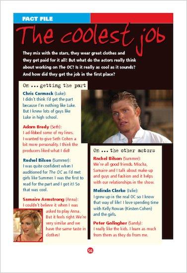 ELT Reader: The OC: The Misfits Fact File
