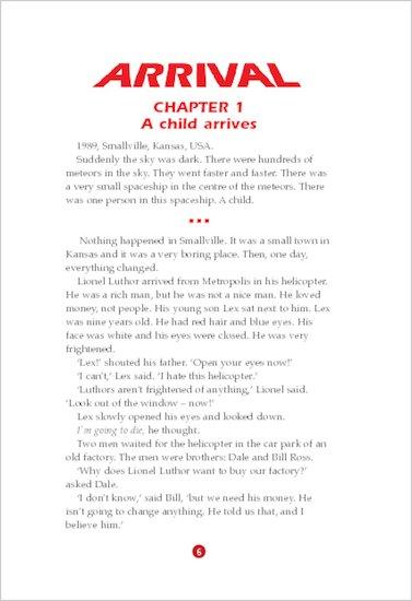 ELT Reader: Smallville: Arrival Sample Chapter