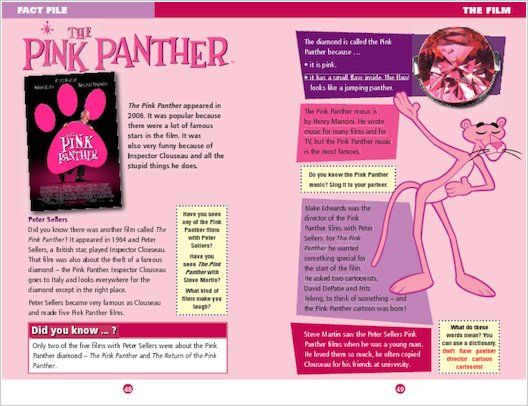ELT Reader: The Pink Panther Fact File