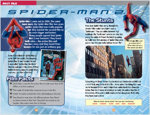 ELT Reader: Spiderman 2 Fact File