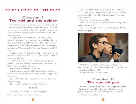 ELT Reader: Spiderman 1 Sample Chapter