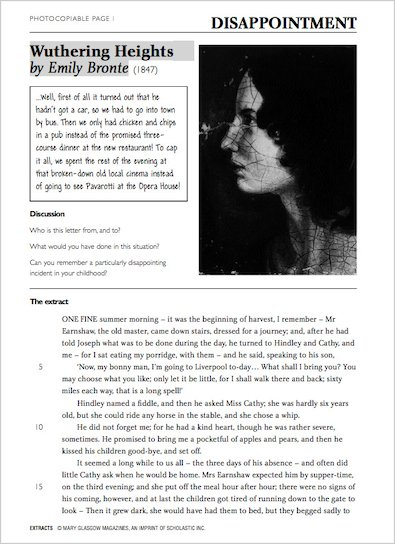 Sample Exercise - Wuthering Heights by Emily Brontë