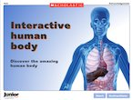 The human body - interactive resource