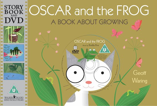 Oscar and the Frog Book and DVD