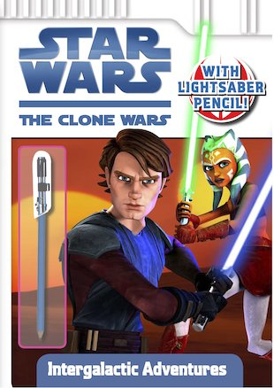 Star Wars: The Clone Wars Activity Book