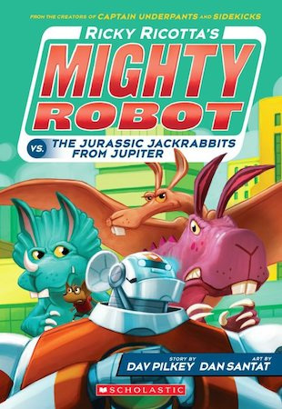 Ricky Ricotta's Mighty Robot vs the Jurassic Jack Rabbits from Jupiter
