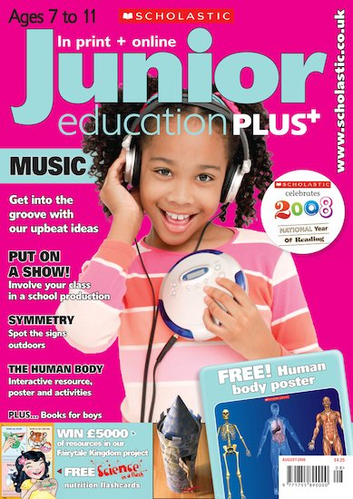 Junior Education PLUS August 2008