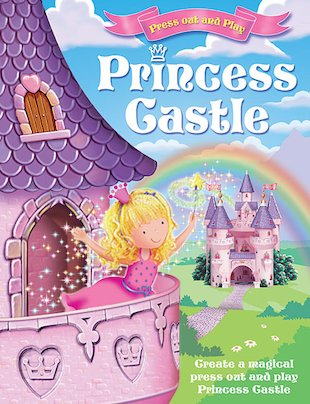Press Out and Play: Princess Castle