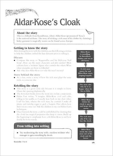 Aldar-Kose's Cloak