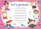 Let's pretend – poster