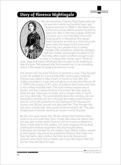 Story of Florence Nightingale
