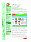 What is the internet 1 (1 page)