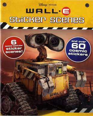 Wall.E Sticker Scenes