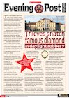 The Diamond Theft – newspaper report