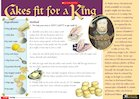 Cakes fit for a king – recipe