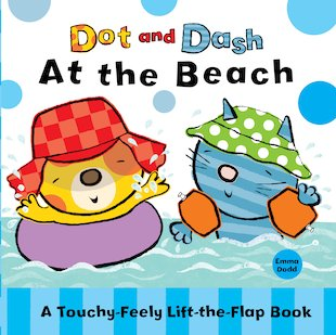 Dot and Dash at the Beach