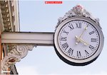 Clock - photo poster (1 page)