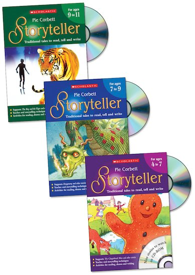 Pie Corbett's Storyteller: Teacher Books Set x 3