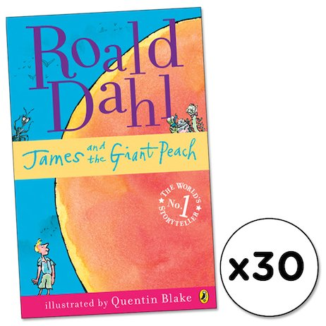 James and the Giant Peach x 30