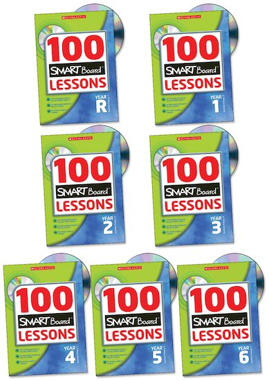 100 SMART Board Lessons Complete Pack (Mac and PC)