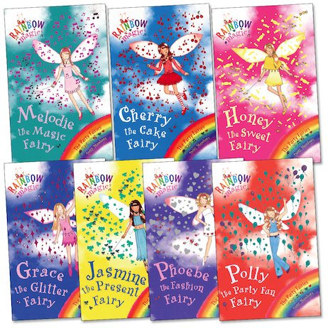 Rainbow Magic: Party Fairies Pack