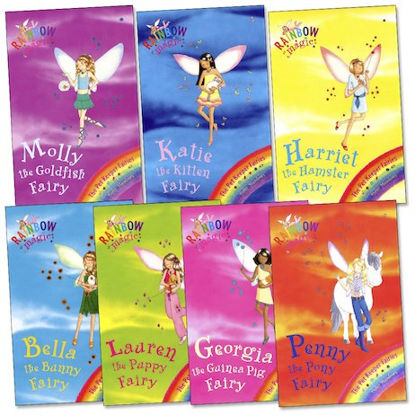 Rainbow Magic: Georgia The Guinea Pig Fairy: The Pet Keeper Fairies Book 3